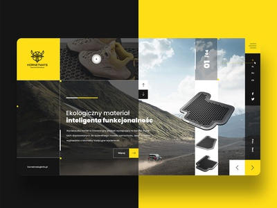 New web design for hornet mats