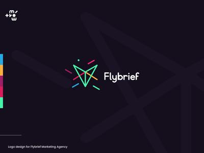 Flybrief Agency logo