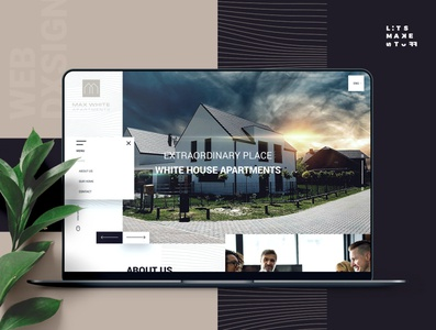 MaxWhite Apartments Web Design