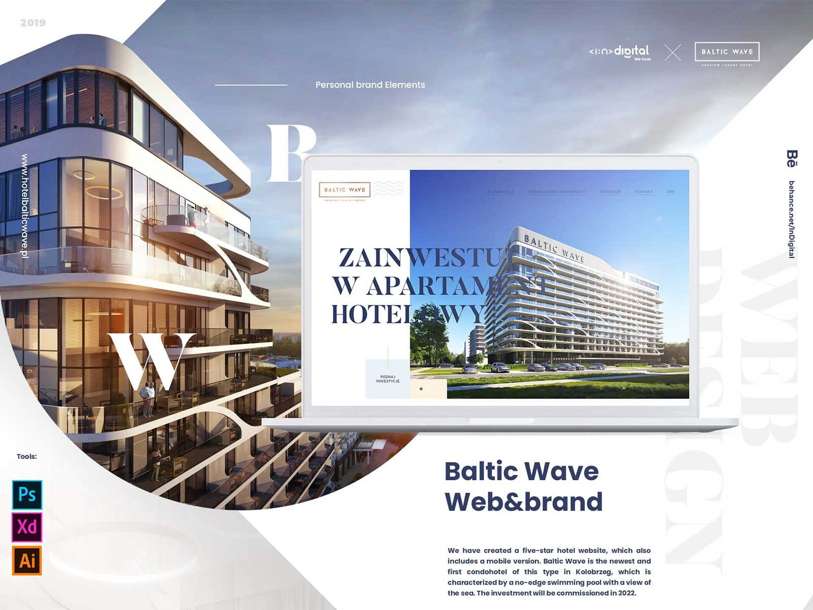 Hotel Baltic Wave Case Study By Mariusz Mitkow On Dribbble