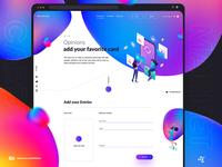 Marketplace Discount cards / Web design