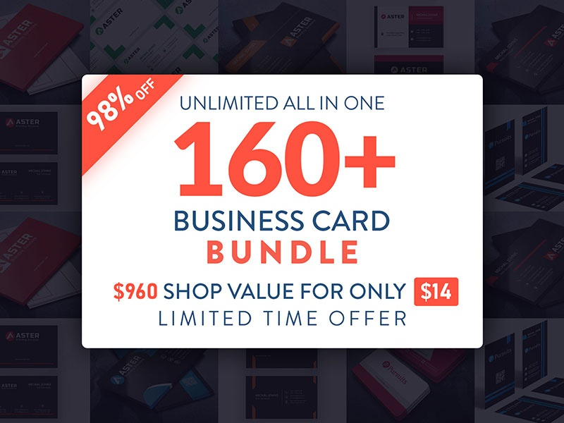 Business Card Bundle geometric business card business product print design cards identity branding stationery business template visiting card graphic design business card