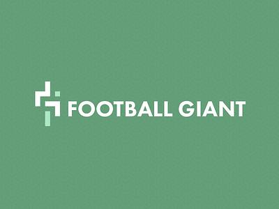 Football Giant Logo Type logo soccer football