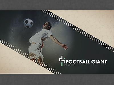 Football Giant Deck Opening deck keynote slide football soccer