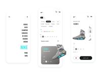 Sneaker store app concept