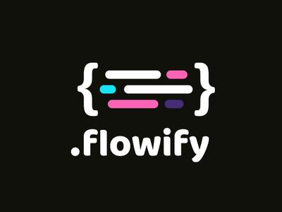 Flowify Logo brand logotype logos logodesign logo branding brand design