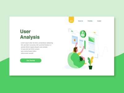 User Analysis Illustration