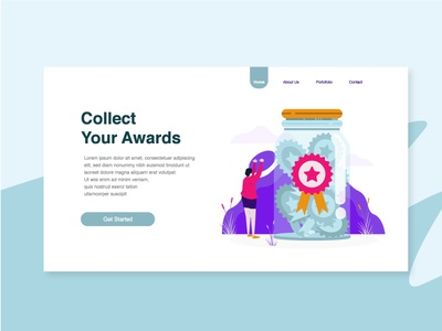 Collect Your Awards Illustration