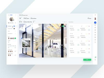 White Architect v2 plan architect web theme white ui design cms dashboard