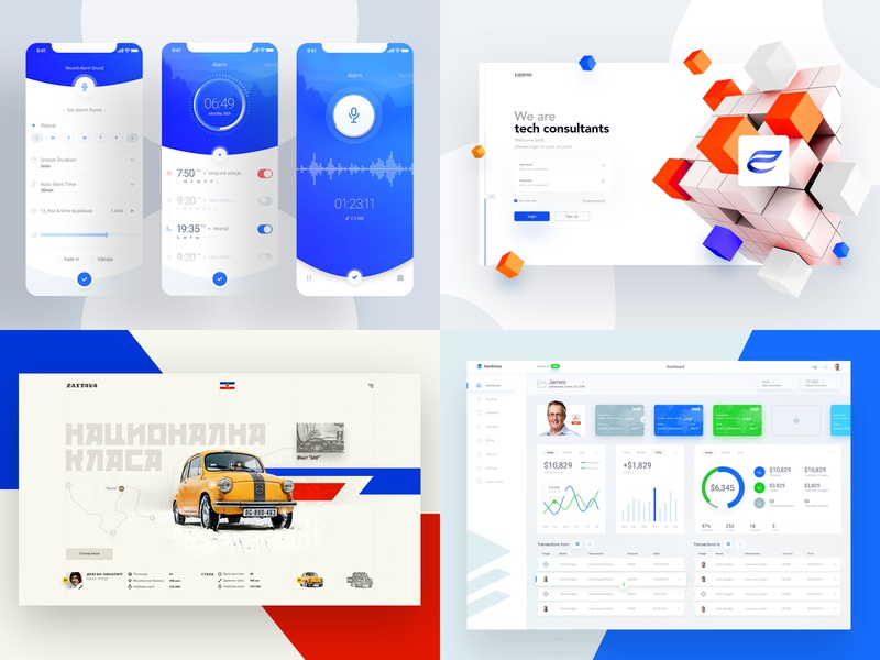 2018 car concept theme sport vector branding logo illustration mobile home ux typography cms dashboard website page landing design web ui