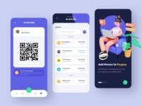 PayPay - Digital Wallet Mobile App 3D Concept wallet bank payment 3d illustration design mobile design mobile app mobile ui uiux illustration cinema4d blender 3d