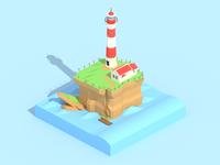 Mercusuar Island Isometric