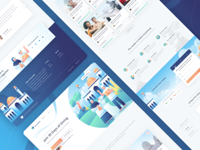 Temanbaik - Fundraising Landing Page Exploration