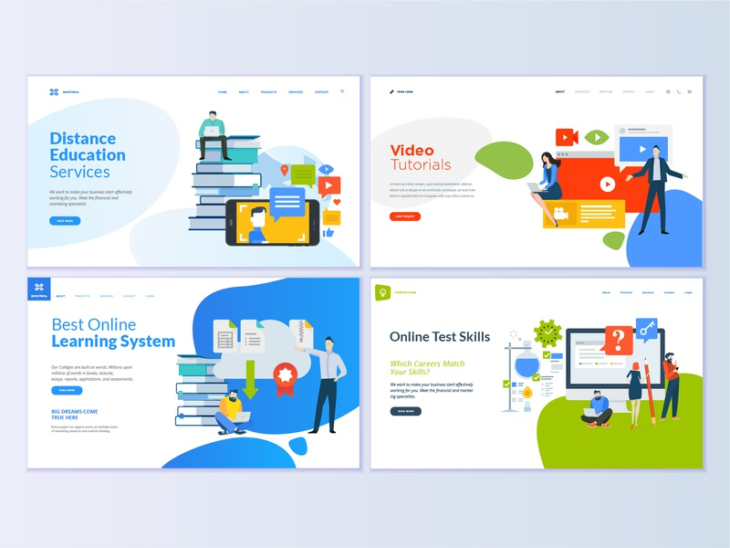 Video Tutorial Designs Themes Templates And Downloadable Graphic Elements On Dribbble