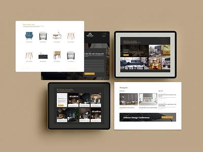 PONDO Funiture Website illustrator web typography logo ux ui website hello dribble design branding