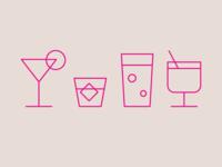 Happy Hour Icon Design