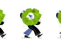Girl carry a marijuana Bush
