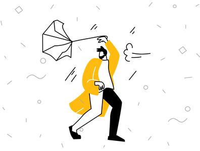 Error vector illustration animation sketch cartoon vector ui line art illustration adobe illustrator flat character