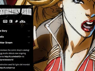 Extinction Seed comics site