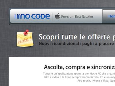 No Code website