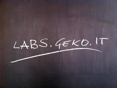 The chalkboard wall labs.geko.it