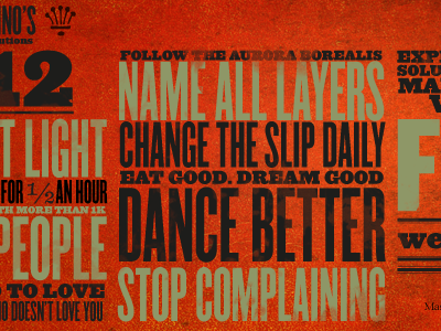 Resolutions012 new year resolution typography