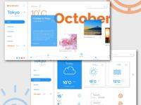 Web redesign idea for AccuWeather website
