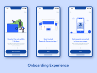 Onboarding Experience for Rewards Convertor App