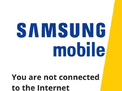 Samsung offline mode gif ux design uidesign motion design