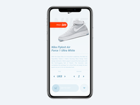 Shoes order page