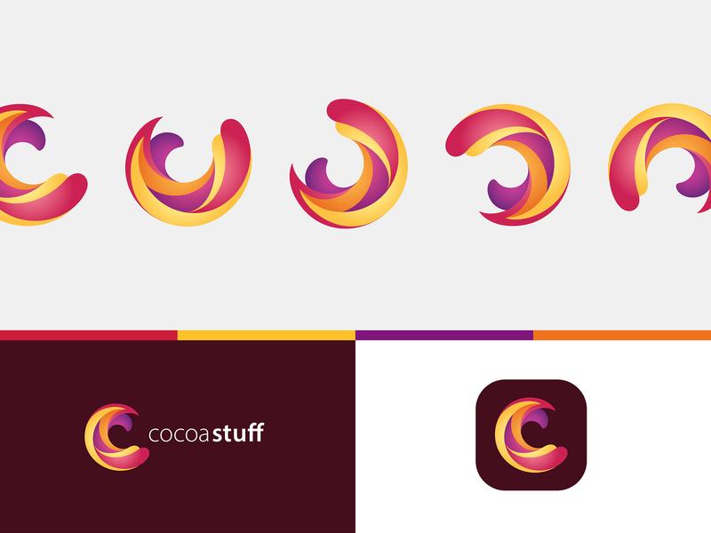 CocoaStuff Logo brand designer logo designer icon design icon brand mark lettering logotype logo design logo brand experience branding design brand design branding brand identity brand