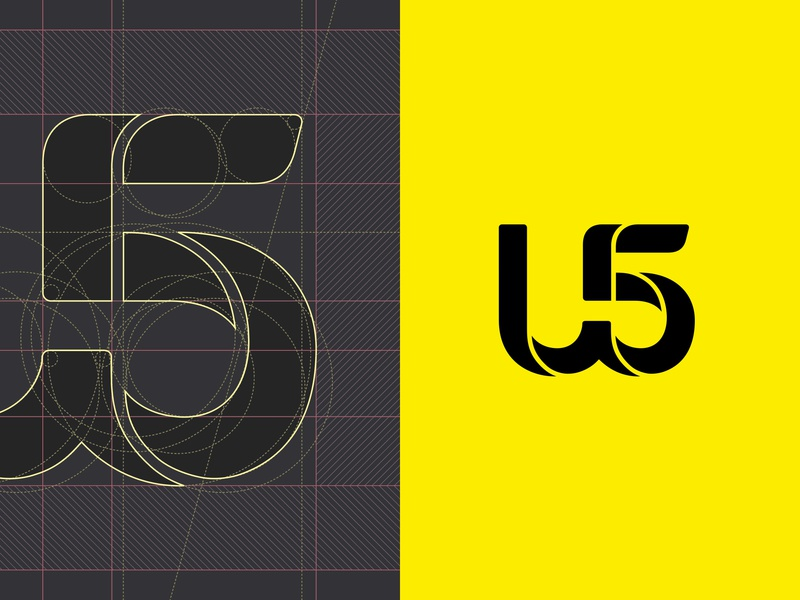 U5 logo musiclabel music brand designer icon design icon typography lettering brand mark logotype logo design logo branding design brand experience brand design branding brand identity brand