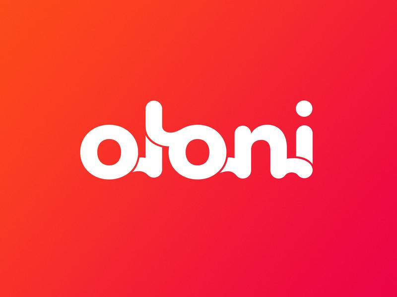 Oloni logo brand designer brand mark typography lettering logotype logo design logo branding design brand experience brand design branding brand identity brand
