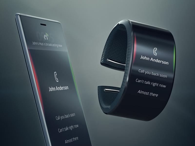 Neptune Call Interface brand experience smartphone smartwatch callapp call uiux designer ux design ux uidesigner uiuxdesign uidesign uiux ui neptune