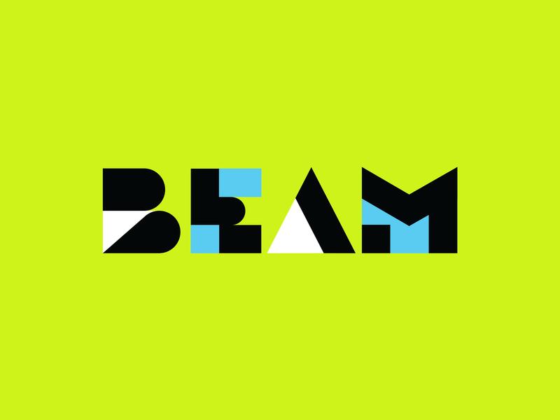 Beam logo beam brand designer icon brand mark typography lettering icon design logotype logo logo design branding design brand experience brand design branding brand identity brand