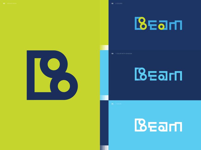 Beam logo beam lettering typography icon design brand designer brand mark logotype logo logo design branding design brand experience brand design branding brand identity brand