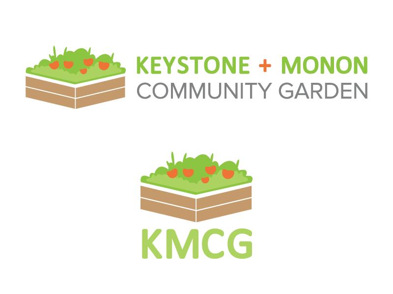 Community Garden Logo Design community indianapolis sans serif green garden identity design branding