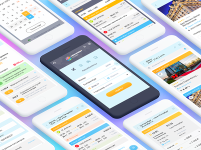 Interface Svyaznoy Travel, mobile version booking svyaznoy service elements travel mobile interface