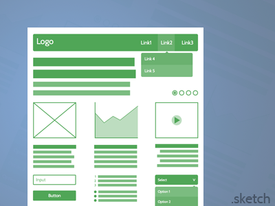 Freebies: Web UI Wireframe web ui wireframe ux sketch sketchapp design free freebies giveaway