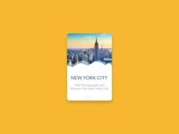 New York Card