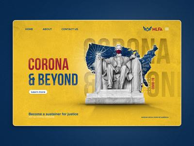 Corona Web Banner