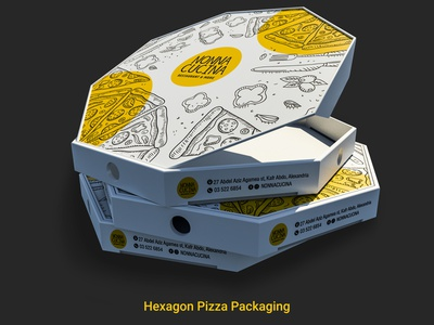 Pizza Package italian flavours food box pizza box restaraunt art direction design packaging design 3d