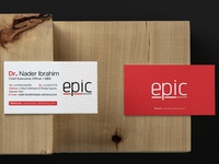Epic Business cards
