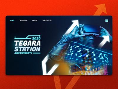 Tegara landing page