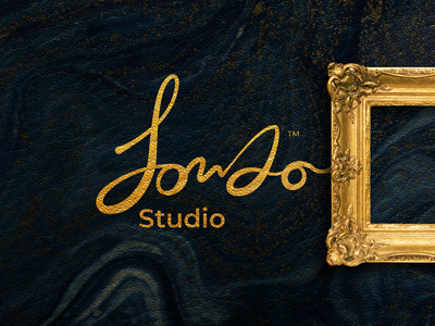 Studio Rebranding custom lettering lettering gold minimal web gradiant graphic typography vector illustrator art direction typo rebranding branding logo
