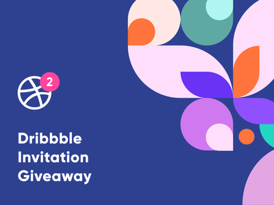 2 Dribbble invite giveaway 2 draft pattern uxui 2 invite player dribbble community graphic design dribbble invitation invite dribbble invite giveaway