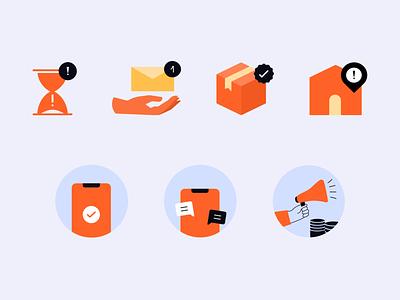 Icons Exploration✨ icongraphy graphic design exploration icon illustration product design uxui userinterface branding logo ui uidesign design