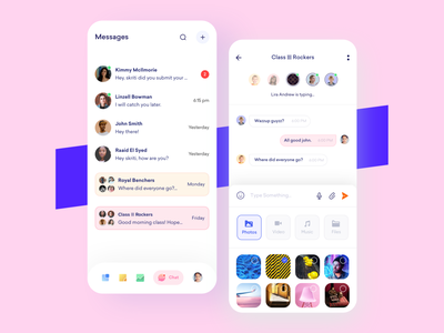 Chatbot💬 iphonex mobile appui message app bot eductional education kids chatbot message chat minimal branding product design ui uxui userexperiencedesign userinterface uidesign design