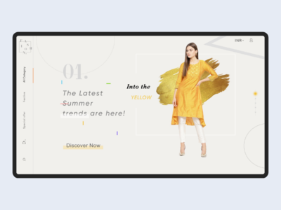 E-commerce Web concept