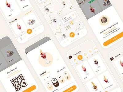 Cukiernia Sowa - confectionery application minimal ios mobile design uiux iphone app iphone app design mobile app ui design design ux figma mobile app design confectionery mobile ui ui